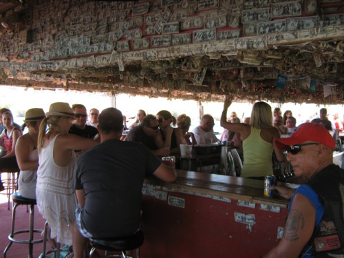 Foxs on the river is a fun place - Dancing, boating, and